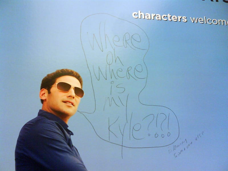 Where oh where is my Kyle?