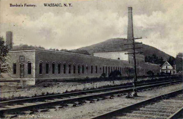 The first successful condensed milk factory, Wassaic, New York