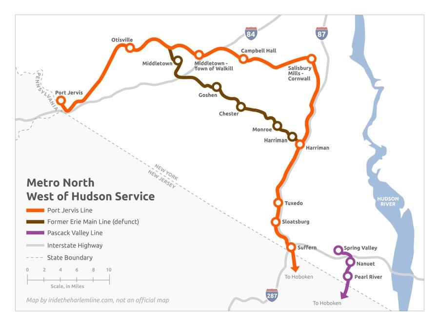 Main Line Bergen County Line New Nj Transit Autos Post