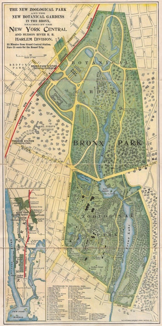 Bronx zoo i ride the harlem line - New york botanical garden directions ...