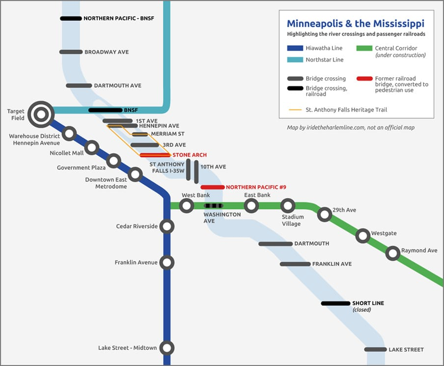 Minneapolis Light Rail Map Pdf