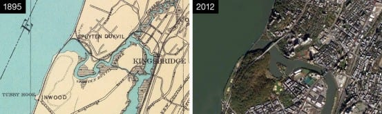 Marble Hill, then and now