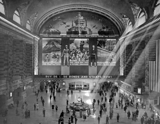 The adjusted mural in Grand Central