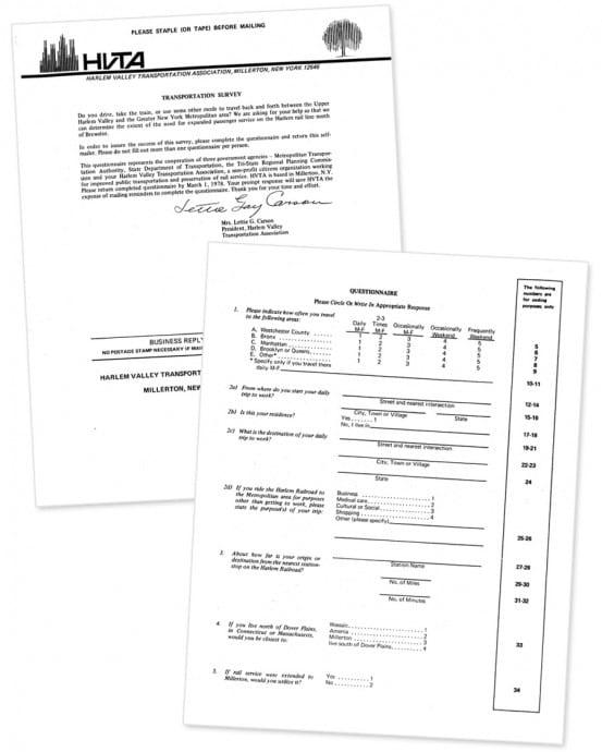 HVTA survey part 1