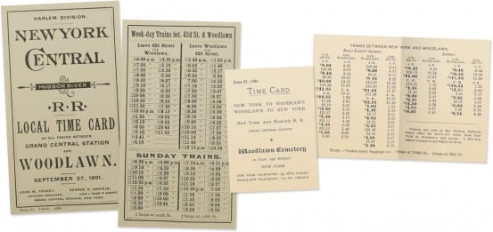 Timecards from Woodlawn