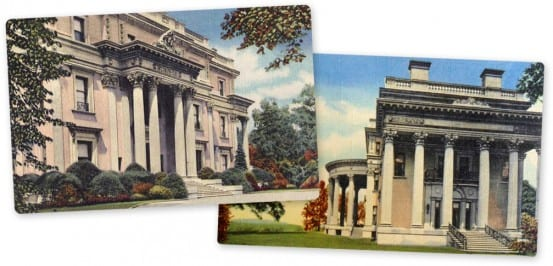 Postcards from the Vanderbilt Mansion
