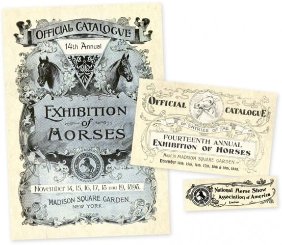 Catalog for the 1898 National Horse Show