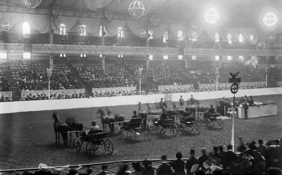 The National Horse Show at Madison Square Garden