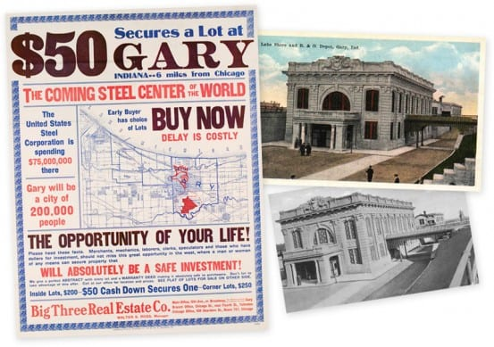 Artifacts from Gary
