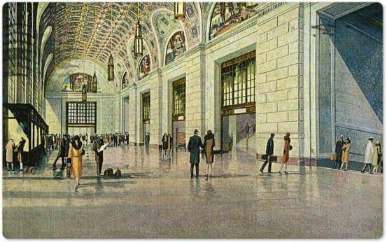 Entrance of Cleveland Union Terminal