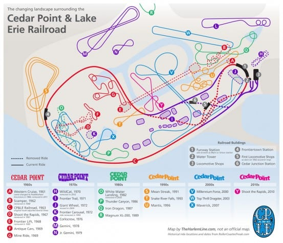 Cedar Point and Lake Erie Railroad