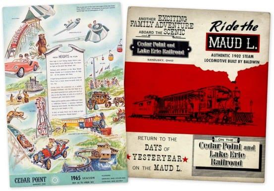 Cedar Point Brochures