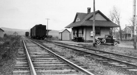 Lagrange station in 1932