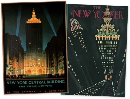 The New York Central Building in print