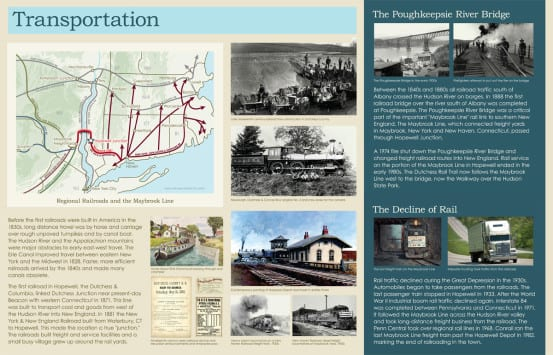 Hopewell Junction interpretive panels