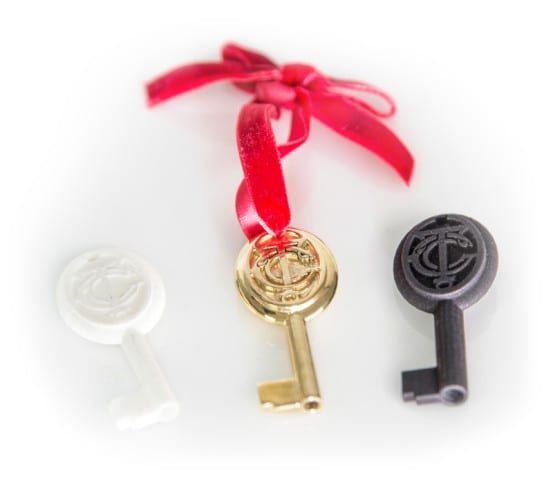 Three keys - WSF, Polished Brass, Black SF
