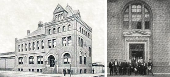 The old and new YMCA