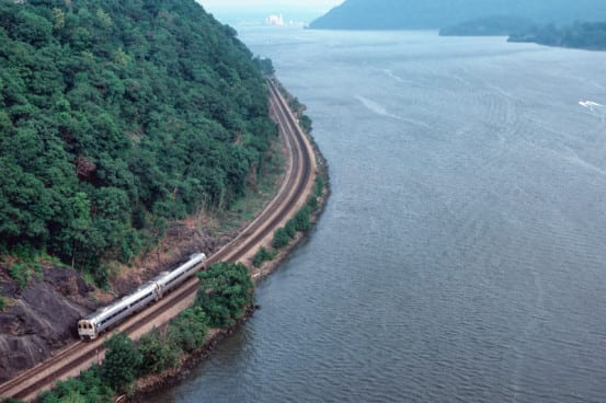 SPV2000 on the Upper Hudson Line in 1985