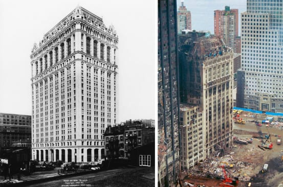 Nearly a hundred years apart - 1907 and 2001