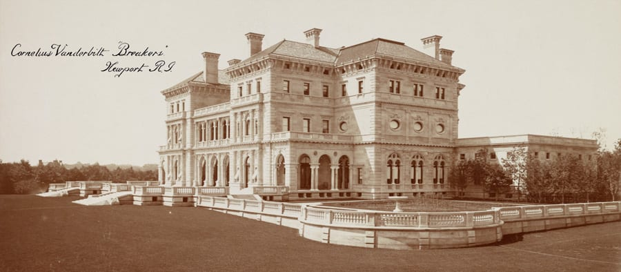 The Mansions That The Railroad Built Part 3 The Breakers on The Breakers Floor Plan