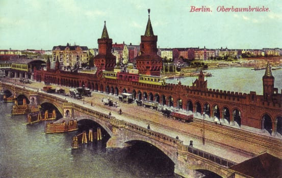 Postcard of the bridge, circa 1910