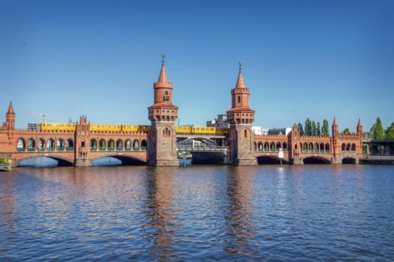 The Oberbaum Bridge, Berlin