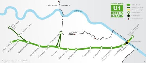 U-Bahn U1 Map
