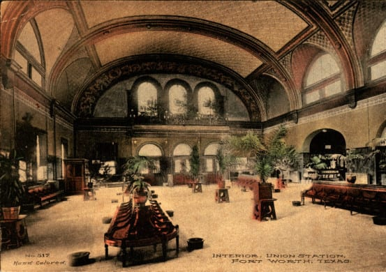 Interior of the depot