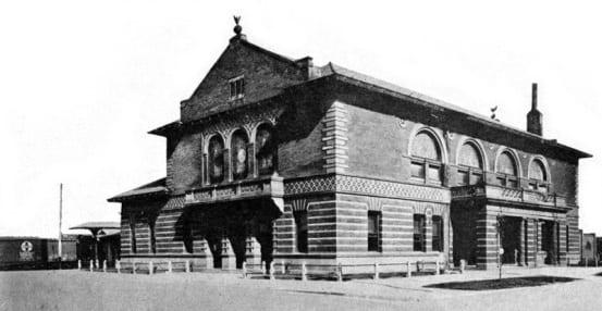 Santa Fe Depot in 1908