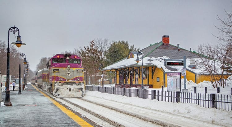 Boston's Record Snowfall, and the MBTA's West Concord