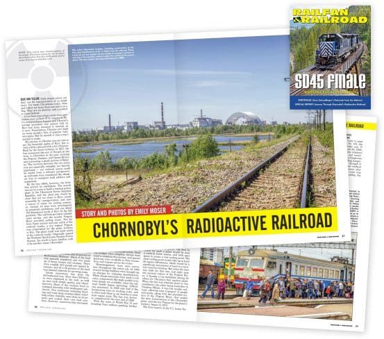 My article in the April issue of Railfan & Railroad