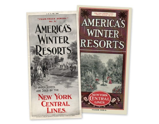 Brochures published by Daniels during his tenure as General Passenger Agent