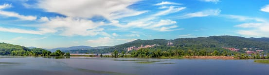 Hudson Line Panorama