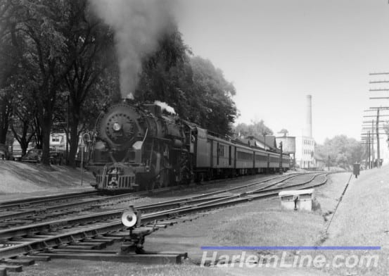 Steaming through Pawling, 1947.