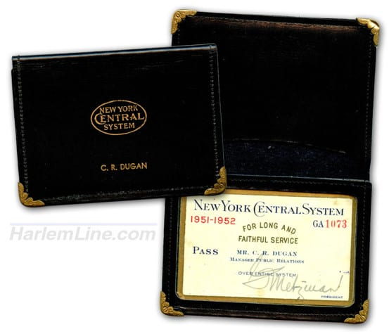 Passes belonging to C.R. Dugan