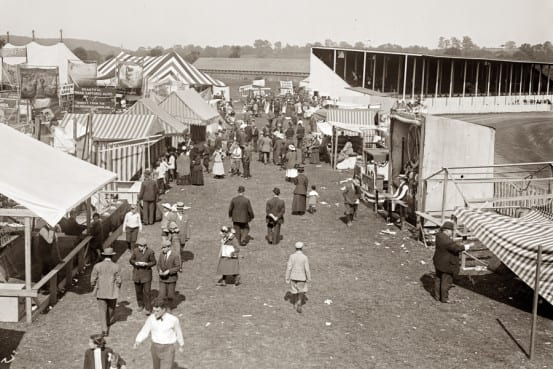 The midway at the Westchester County Fair