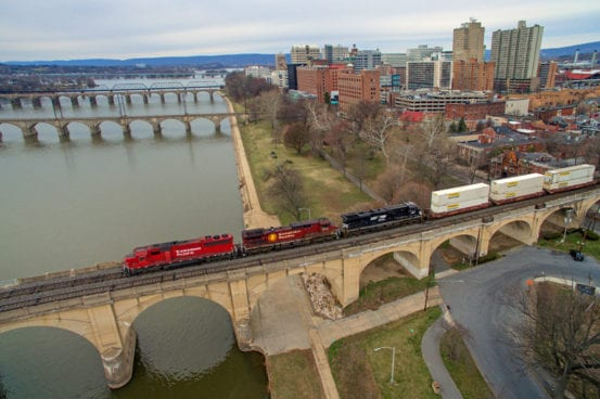 The bridges of Harrisburg