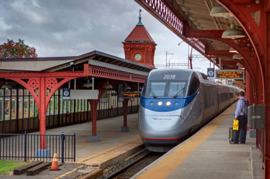 Acela at Wilmington