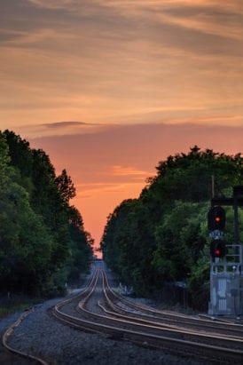 Charlotte sunset