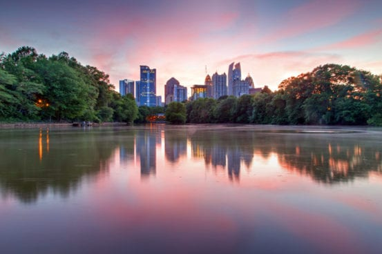 Reflections of Atlanta