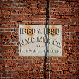 The original Borden factory in Wassaic today