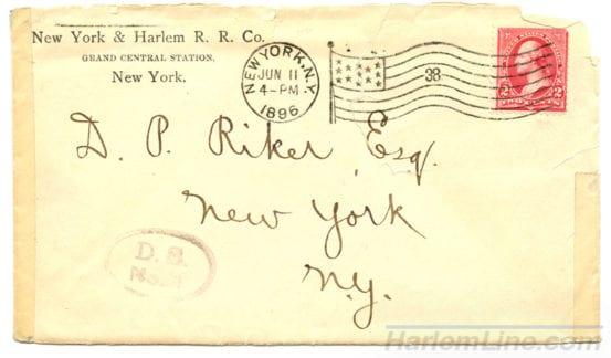 Envelope sent to shareholders