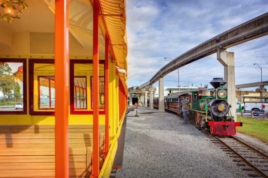 Behind the scenes of Disney World's steam trains