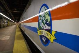 Empire Service logo in Grand Central