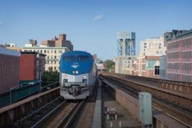 Approaching Harlem 125th Street station