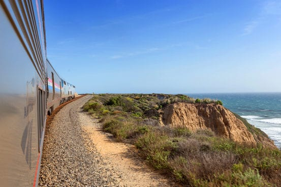 Along the Coast Starlight