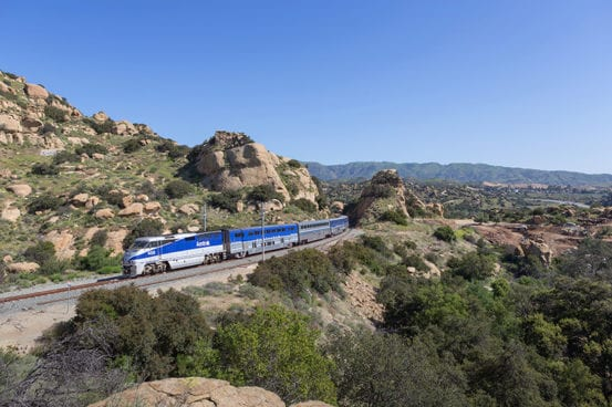 Pacific Surfliner at Chatsworth