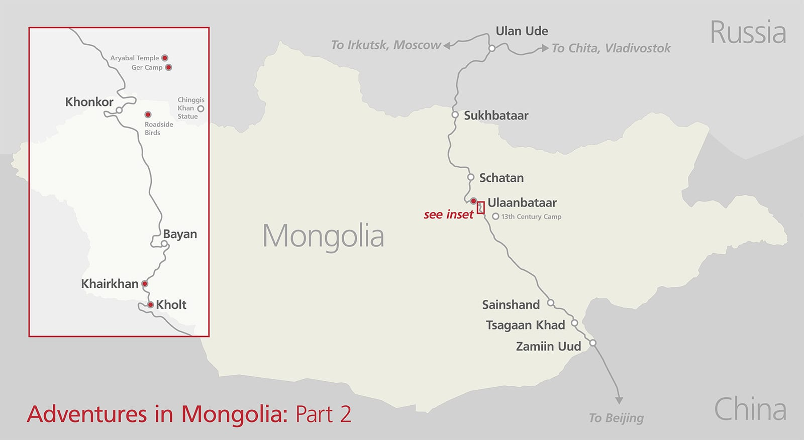 Adventures in Mongolia, Part 2 – I Ride The Harlem Line…