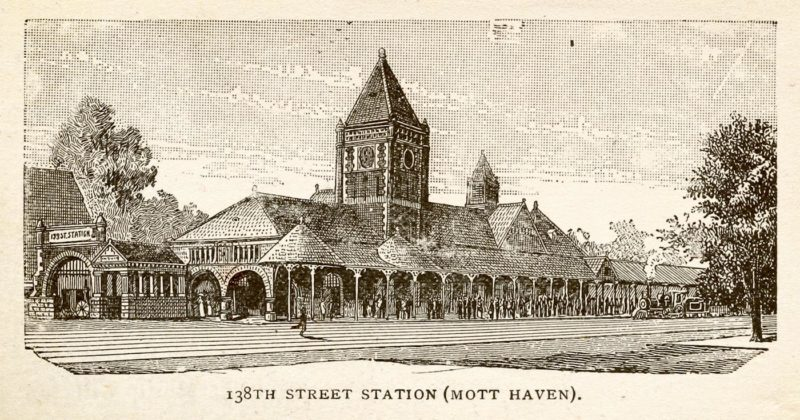 An illustration of the station at 138th Street