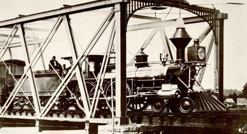 """""""W.H. Vanderbilt"""" - New York & Harlem #40, built 1864, Taunton Locomotive. From the Robert Schmied Negative Collection, Steamtown."""